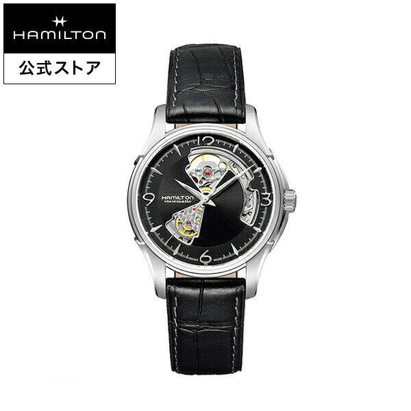 ハミルトン 公式 腕時計 Hamilton Jazzmaster Open Heart ジャズマスター オープンハート メンズ レザー | 正規品 時計 メンズ腕時計 ブランド 革ベルト ウォッチ ビジネス 男性腕時計 watch 紳士 革 男性 プレゼント メンズウォッチ フレッシャーズ 男性用腕時計