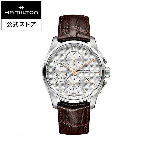 ハミルトン 公式 腕時計 Hamilton Jazzmaster Auto Chrono ジャズマスター オートクロノ メンズ レザー | 正規品 時計 メンズ腕時計 ブランド ベルト 革ベルト ウォッチ ブランド腕時計 ビジネス うでとけい 男性腕時計 watch 紳士 革 男性 メンズウォッチ