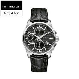 ハミルトン 公式 腕時計 Hamilton Jazzmaster Auto Chrono ジャズマスター オートクロノ メンズ レザー | 正規品 時計 メンズ腕時計 ギフト ブランド 革ベルト ウォッチ ビジネス うでとけい 男性腕時計 革 男性 プレゼント レザーベルト メンズウォッチ