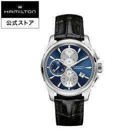 ハミルトン 公式 腕時計 Hamilton Jazzmaster Auto Chrono ジャズマスター オートクロノ メンズ レザー | 正規品 時計 メンズ腕時計 ギフト ブランド 革ベルト ウォッチ ビジネス うでとけい 男性腕時計 男性 オフィス 誕生日プレゼント メンズウォッチ 男性用腕時計