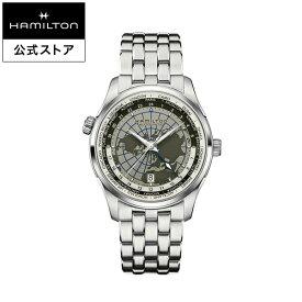 Hamilton ハミルトン 公式 腕時計 JM GMT D A42-gr-brc ジャズマスター GMT メンズ メタル | 正規品 時計 メンズ腕時計 ブランド ブレスレットウォッチ ベルト ウォッチ ビジネス watch 紳士 男性 オフィス プレゼント スーツ 男性用腕時計 メンズウォッチ