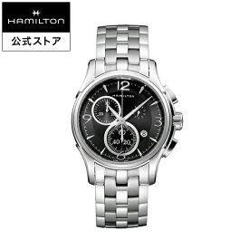 Hamilton ハミルトン 公式 腕時計 Jazzmaster Chrono Quartz ジャズマスター クロノ クォーツ メンズ メタル | 正規品 時計 メンズ腕時計 ウォッチ クオーツ 男性 シルバー メンズ時計 メタルバンド メンズウォッチ トラディショナルウォッチ