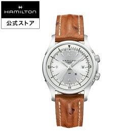 ハミルトン 公式 腕時計 Hamilton Jazzmaster Traveler GMT ジャズマスター トラベラー GMT メンズ レザー | 正規品 時計 ギフト メンズ腕時計 自動巻き 革ベルト ウォッチ 防水 機械式 22mm おしゃれ 男性腕時計 革 機械式腕時計