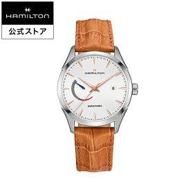 ハミルトン 公式 腕時計 Hamilton Jazzmaster Power Reserve ジャズマスター パワーリザーブ メンズ レザー | 正規品 時計 メンズ腕時計 ギフト 自動巻き 革ベルト ウォッチ 自動巻 機械式 watch 革 男性 ウオッチ レザーベルト ブラウン