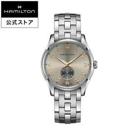 ハミルトン 公式 腕時計 Hamilton JM THINLINE SLS Q40-GR-BRC ジャズマスター スモールセコンド クォーツ メンズ ステンレススチール | 正規品 ギフト 時計 メンズ腕時計 ブランド ブレスレットバタフライバックル クォーツ ウォッチ ビジネス クォーツ シンプル 男性