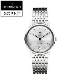 ハミルトン 公式 腕時計 Hamilton Intra-Matic アメリカンクラシック イントラマティック メンズ メタル | 正規品 時計 メンズ腕時計 ブランド ウォッチ ギフト ベルト ウォッチ ビジネス 男性腕時計 watch 紳士 男性 ウオッチ 男性用腕時計 メンズウォッチ ギフト