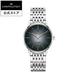 ハミルトン 公式 腕時計 Hamilton Intra-Matic アメリカンクラシック イントラマティック メンズ メタル | 正規品 時計 メンズ腕時計 ブランド ブランド腕時計 ビジネス 紳士時計 うでとけい 男性腕時計 watch 男性 ウオッチ メンズウォッチ