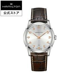 ハミルトン 公式 腕時計 Hamilton Jazzmaster Thinline ジャズマスター シンライン メンズ レザー H38511513 | 正規品 時計 メンズ腕時計 ギフト ブランド ウォッチ ビジネス うでとけい おしゃれ 男性腕時計 紳士 男性 オフィス ウオッチ メンズウォッチ