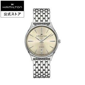 ハミルトン 公式 腕時計 Hamilton Jazzmaster Thinline 40mm ジャズマスター シンライン オート メンズ メタル | 正規品 時計 ギフト メンズ腕時計 ブランド ブレスレットウォッチ ブレスレット ウォッチ ビジネス 機械式自動巻 シンプル 男性
