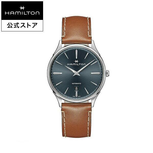 Hamilton ハミルトン 公式 腕時計 Jazzmaster Thinline 40mm ジャズマスター シンライン オート メンズ レザー H38525541 |正規品 時計 メンズ腕時計 ブランド 革ベルト ウォッチ 自動巻 ビジネス 男性腕時計 男性 オフィス スーツ ファッション時計 男性用腕時計 カジュアル