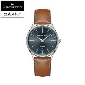 ハミルトン 公式 腕時計 Hamilton Jazzmaster Thinline 40mm ジャズマスター シンライン オート メンズ レザー H38525541 |正規品 時計 ギフト メンズ腕時計 ブランド 革ベルト ウォッチ 自動巻 ビジネス 男性腕時計 男性 オフィス スーツ ファッション時計