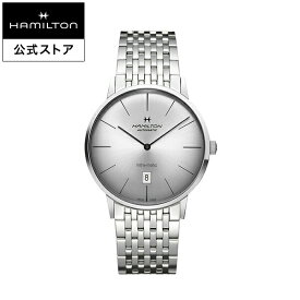 ハミルトン 公式 腕時計 Hamilton Intra-Matic アメリカンクラシック イントラマティック メンズ メタル | 正規品 時計 メンズ腕時計 ブランド ブレスレットウォッチ ギフト ベルト ウォッチ ビジネス 男性用腕時計 紳士 男性 ウオッチ メンズウォッチ