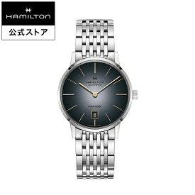 ハミルトン 公式 腕時計 Hamilton Intra-Matic アメリカンクラシック イントラマティック メンズ メタル | 正規品 時計 メンズ腕時計 ブランド ベルト ブレスレットウォッチ ブランド腕時計 ビジネス 紳士時計 うでとけい 男性腕時計 watch 男性 ウオッチ メンズウォッチ