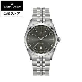 ハミルトン 公式 腕時計 HAMILTON American Classic Spirit of Liberty アメリカンクラシック スプリットオブリバティ オートマティック 自動巻き 42.00MM ブラック × シルバー H42415091 メンズ腕時計 男性 正規品 ブランド