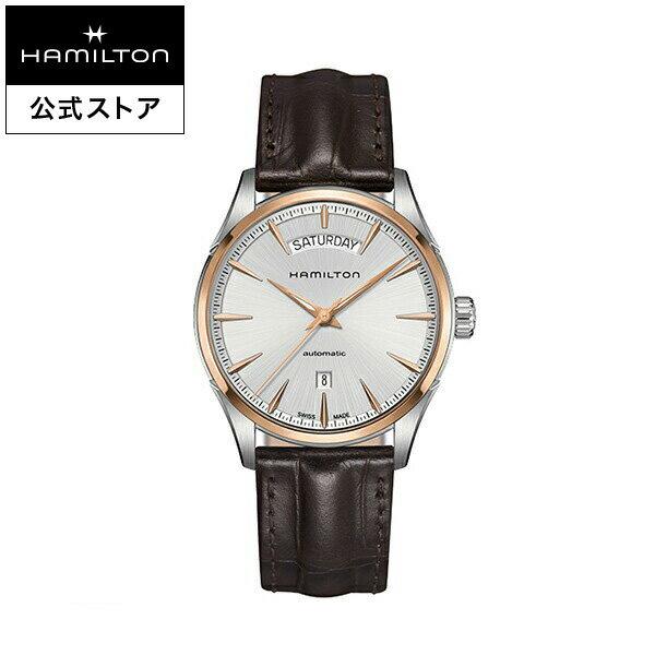 ハミルトン 公式 腕時計 Hamilton Jazzmaster Day Date ジャズマスター デイデイト メンズ レザー | 正規品 時計 メンズ腕時計 ブランド ベルト 革ベルト ウォッチ ブランド腕時計 ビジネス うでとけい watch 紳士 革 男性 ウオッチ フォーマル 男性用腕時計