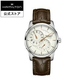 ハミルトン 公式 腕時計 Hamilton JM Regulator A42-sr-l-bw ジャズマスター レギュレーター メンズ レザー | 正規品 時計 メンズ腕時計 ギフト 革ベルト ウォッチ 自動巻 機械式 22mm おしゃれ 男性腕時計 watch 革 機械式腕時計 男性