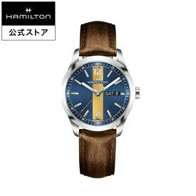 Hamilton ハミルトン 公式 腕時計 Broadway Day Date ブロードウェイ デイデイト メンズ レザー H43311541 | 正規品 時計 メンズ腕時計 ブランド ベルト ウォッチ ブランド腕時計 ビジネス 男性腕時計 watch 紳士 男性 プレゼント ウオッチ メンズウォッチ 男性用腕時計