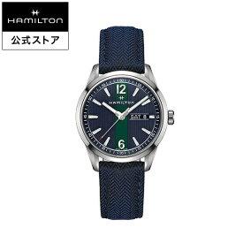ハミルトン 公式 腕時計 Hamilton Broadway ブロードウェイ メンズ テキスタイル | 正規品 時計 メンズ腕時計 クォーツ ブランド腕時計 ベルト ギフト ウォッチ クオーツ watch 男性 紳士 プレゼント メンズウォッチ 大人 クォーツ腕時計 ギフト