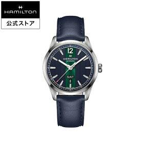 ハミルトン 公式 腕時計 Hamilton Broadway Day Date Auto ブロードウェイ デイデイト オート メンズ メタル | 正規品 ギフト 時計 メンズ腕時計 機械式自動巻 ブランド腕時計 ベルト ウォッチ watch グリーン 男性 紳士 プレゼント メンズウォッチ 大人 ギフト