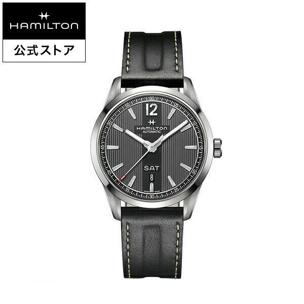 ハミルトン 公式 腕時計 Hamilton Broadway Day Date ブロードウェイ デイデイト オート メンズ レザー | 正規品 時計 メンズ腕時計 ブランド 革ベルト ウォッチ ビジネス うでとけい 男性腕時計 革 男性 レザーベルト 誕生日プレゼント メンズウォッチ 男性用腕時計