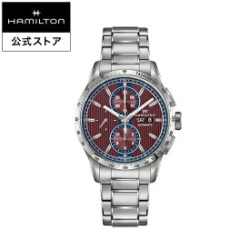 ハミルトン 公式 Hamilton Broadway ブロードウェイ オートクロノ メンズ メタル | 正規品 男性 腕時計 時計 ウォッチ ウオッチ ギフト 男性用腕時計 男性腕時計 機械式 自動巻 オートマティック クロノグラフ 22mm 10気圧防水 おしゃれ メンズ腕時計 防水