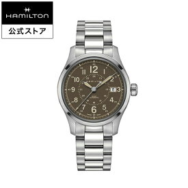 ハミルトン 公式 Hamilton Khaki Field カーキ フィールド オート メンズ メタル | 男性 腕時計 時計 ウォッチ ギフト ウオッチ watch うでとけい 紳士 ブランド メンズ腕時計 男性用腕時計 男性腕時計 メンズウォッチ ブランド腕時計 ベルト