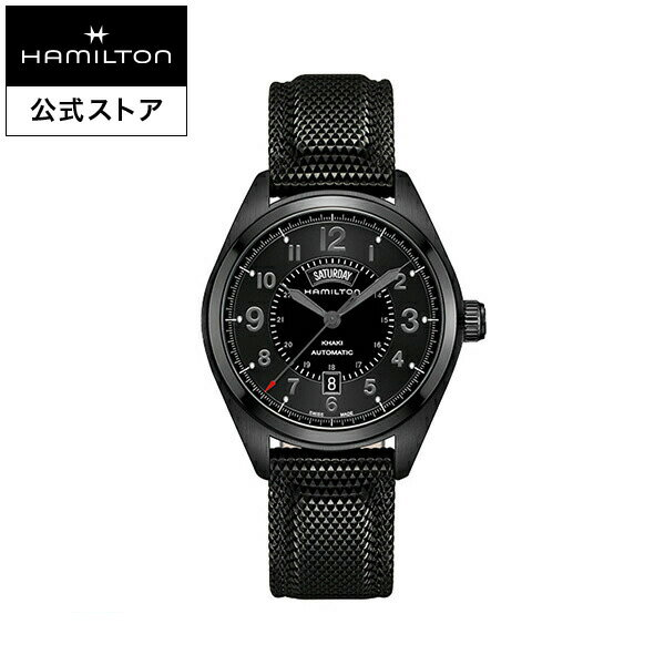 【ハミルトン 公式】 Hamilton Khaki Field Day Date カーキ フィールド デイデイト メンズ ラバー | 男性 腕時計 時計 ウォッチ ウオッチ watch うでとけい 紳士 ブランド メンズ腕時計 男性用腕時計 男性腕時計 メンズウォッチ ブランド腕時計 ベルト ビジネス ギフト