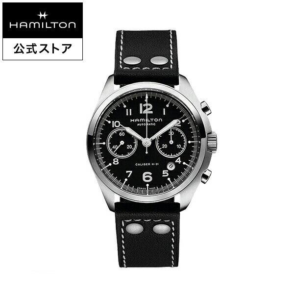 【ハミルトン 公式】 Hamilton Khaki Pilot Pioneer カーキ アビエーション パイロット パイオニア オートクロノ メンズ レザー | 腕時計 時計 メンズ腕時計 ブランド ブランド腕時計 うでとけい ウォッチ watch ウオッチ メンズウォッチ 男性用腕時計 男性 紳士 男性腕時計