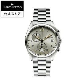 Hamilton ハミルトン 公式 腕時計 Khaki Pilot Pioneer カーキ アビエーション パイロット パイオニア クロノ メンズ メタル | 正規品 時計 メンズ腕時計 ブランド ウォッチ パイロットウォッチ watch アビエイション 紳士 男性 メンズウォッチ