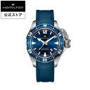【ハミルトン 公式】 Hamilton Khaki Navy Frogman カーキ ネイビー オープンウォーター メンズ ラバー | 腕時計 時計 メンズ腕時計 ブランド ウォッチ ベルト watc