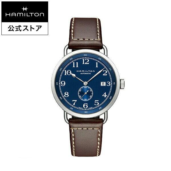 【ハミルトン 公式】 Hamilton Khaki Navy Pioneer Small Second カーキ ネイビー パイオニア スモールセコンド メンズ レザー | 腕時計 時計 メンズ腕時計 ブランド ウォッチ watch ブランド ビジネス 男性用腕時計 男性 ウオッチ スーツ クールビズ オフィス