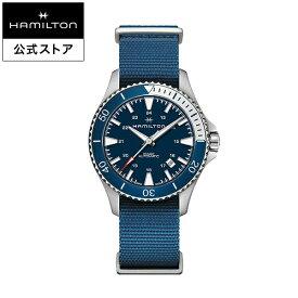 ハミルトン 公式 腕時計 Hamilton Khaki Navy Scuba カーキ ネイビー スキューバ メンズ ラバー | 正規品 時計 ギフト メンズ腕時計 ブランド ダイバーズウォッチ ウォッチ 自動巻 防水 アウトドア 男性 防水腕時計 スポーツ 10気圧防水 カジュアル