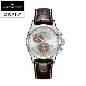 ハミルトン 公式 腕時計 HAMILTON Jazzmaster ジャズマスター クオーツ クォーツ 42.00MM レザーベルト シルバー × ブラウン H32612551 メンズ腕時計 男性 正規品 ブランド ビジネス シンプル