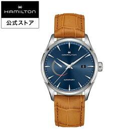ハミルトン 公式 腕時計 Hamilton JM Power Reserve D A42-bl-l-br ジャズマスター パワーリザーブ メンズ レザー 男性 男性用腕時計 ギフト ブランド ギフト おしゃれ