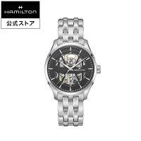 JMSKELETONジャズマスタースケルトン腕時計オート自動巻き40MMシルバー×グレーブレスレット