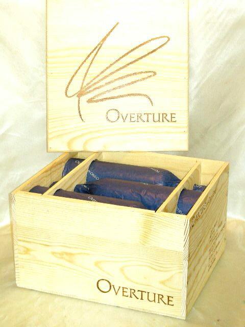 オーヴァーチュア 綺麗な木箱6本セット♪【正規品】【15日間限定↓バッチリ値下げ↓送料無料】