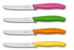 【送料無料】【VICTORINOX/ビクトリノックス】トマト・ベジタブルナイフ(フルーツカラ—)【果物ナイフ】