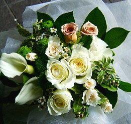 バレンタイン 御祝 開店祝い プレゼント おまかせ ホワイト ブーケ 花束 バレンタイン 御祝 開店祝いギフト お祝い 花 人気ランキング 花ギフト 花束 結婚記念日 (就任 送別 誕生日 などにも) バラ 還暦 10 花束