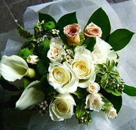 誕生日 開店祝い プレゼント おまかせ ホワイト ブーケ 花束 誕生日 開店祝いギフト お祝い 花 人気ランキング 花ギフト 花束 結婚記念日 (就任 送別 誕生日 などにも) バラ 還暦 10 花束