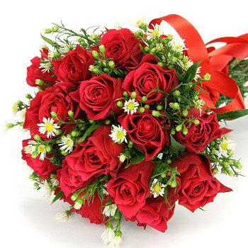 送別 卒業 御祝 開店祝い 送料無料 おまかせ!赤バラの花束 送別 卒業 御祝 開店祝いギフト お祝い ブーケ 花ギフト 結婚記念日 (就任 送別 誕生日 などにも) お祝い 14