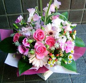 誕生日 開店祝い プレゼント おまかせ ピンク系フラワーアレンジメント 花 人気ランキング 花ギフト 花束 結婚記念日 (就任 送別 誕生日 などにも) バラ 就任 送別 38[胡蝶蘭]
