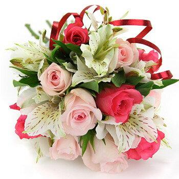 送料無料 誕生日 お祝い 開店祝い 出産祝い プレゼント おまかせ ころっ、ピンクブーケ 花束 出産祝い ブーケ 花 人気ランキング 花ギフト 花束 結婚記念日 (就任 送別 誕生日 などにも) バラ 就任 送別 69 花束