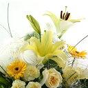 誕生日 開店祝い 送別 プレゼント おまかせ 黄色オレンジ系フラワーアレンジメント 花 人気ランキング 花ギフト 花束…