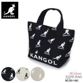 KANGOL カンゴール crane ミニトートバッグ ランチバッグ ブランド レディース ブラック ホワイト オーク 250-1460 女性 プレゼント ギフトラッピング無料