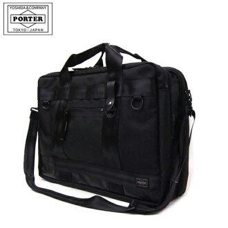 吉田包PORTER搬运工人PORTER HEAT加热衣服包703-07980男子的商务包2way夸大的夜场比赛出差点数10倍