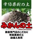みかんの土(肥料入り) (14L) 【資材】 常緑果樹専用 鉢植え専用 培養土 ミカン 蜜柑●●