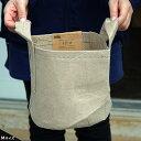 ルートポーチ 【Mサイズ 取っ手付】 根域制限バッグ リサイクル植木鉢 直径21cm 収納バッグ