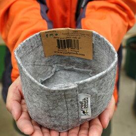 ルートポーチ 【SSサイズ 取っ手なし】 根域制限バッグ リサイクル植木鉢 直径12cm 収納バッグ
