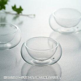 【クーポン配布中】耐熱ダブルガラス ユニティ ミニグラス 90cc //小鉢 買いまわり