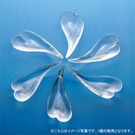 【クーポン配布中】ガラス アミューズ スプーントレー(ハート型)13cm 買いまわり